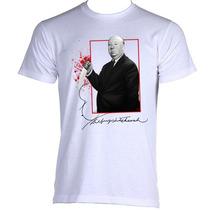 Camiseta Alfred Hitchcock Psicose Suspense Psycho 01