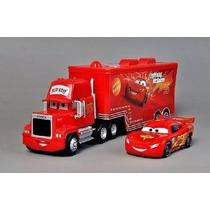 Cars Pixar - Kit Caminhão Mack E Relâmpago Mcqueen