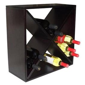 Bodega Para Vinos Con Compartimentos En Diamante Para 24 Bot