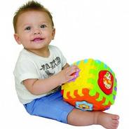 Brinquedo Educativo Bebê 6 Meses Com Som Smart Cube