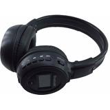 Fone De Ouvido Headset Wireless Com Visor Digital Bt N65