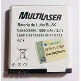 Bateria Original Bl-5k Nokia P/ Celular N85 701 C7-00 N86