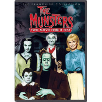 The Munsters Two Movie Fest La Familia Monster Dvd Importado