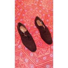 Zapatos De Gamuza N° 43 Guido Con 2 Pestsa De Uso