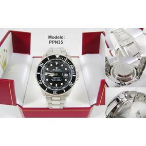 Relojes Rolex Contra Agua Acero Inox. Estuche Y Envio Gratis