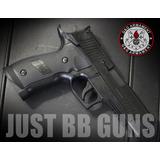 Pistola Sigsauer Airsoft + 1000 Bbs + Lentes De Protección