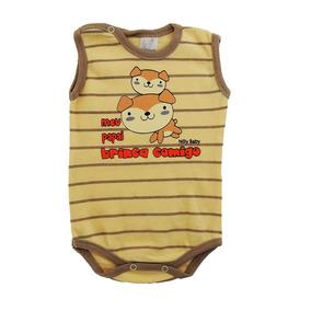 Body Infantil Menino Regata Papai Brinca Comigo - 2013