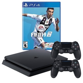 Playstation 4 Ps4 Slim 1tb+ Fifa19 2 Controles / Huamansales