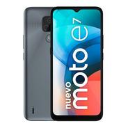 Celular Motorola Moto E7 32gb 2gb Ram Gris Mineral Nuevo