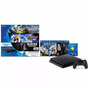 Ps4 Slim 500 Gb + 3 Juegos + 1 Joystick Aguirrezabala