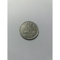 Moeda Antiga 50 Centavos 1975 Cruzeiros Coleção Cod:06m.