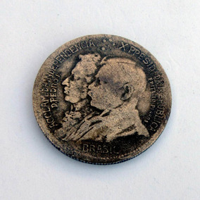 Moeda Antiga 1000 Réis 1922 Bronze Alumínio Bc Numismática