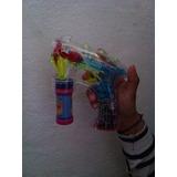 Pistola De Burbujas Luminosa Led ¡fiesta De Burbujas!