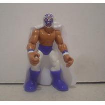 Mil Mascaras - Luchador De Plastico - Muñeco De Juguete