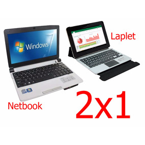 Netbook Intel. Windows 7 + Laplet Mini Lap Quad Core.