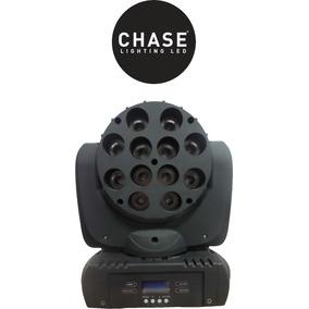 Cabezal Led Movil Wash Chase R3 12 Leds 10w 4 En 1