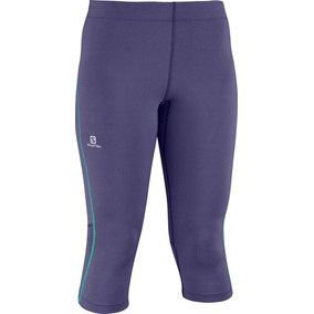 Pantalon Lycra Masculino Salomon- Start 3 Gris