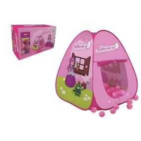 Barraca Castelo Das Princesas Com 500 Bolinhas!!! - Brinquedos e ... ea8bae75bf2