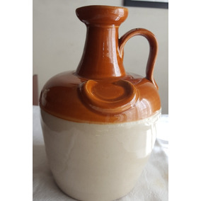 Vasija De Whisky De Ceramica Antigua