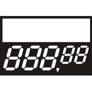 Etiquetas De Pvc 70 Mm X 37 Mm  Com 200 Unidades 5 Digito