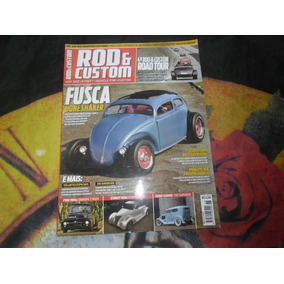 Revista Rod & Custom Nr 26 Fusca Bone Snaker F-1000 1954