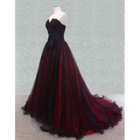 Vestido Debutante Festa 15 Anos 1219 Noivas Vermelho Luxo 99