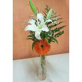 Arreglo Floral Con Flores Natural Para Boda Quince Eventos.