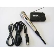 Micrófono Wvngr Inalámbrico. Tambien Con Cable Plug 6.4mm.