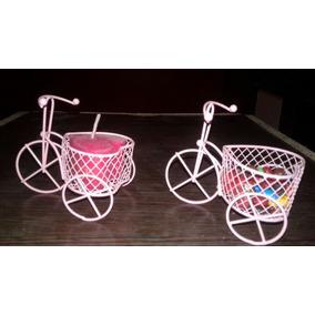 Bici C/canasto Corazon Souvenir/15/bautismo/baby Shower/casa