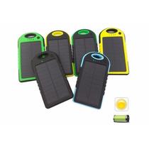 Power Bank Solar 12,000 Mah Usb La Más Vendida