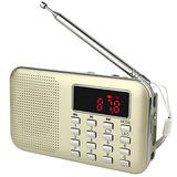 Tivdio L-218 Radio Portable Del Transistor De Am / Fm Con...