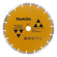 Disco Diamantado Segment 9 Pol 230mm Concreto D-44292 Makita