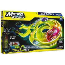 Pista Micro Chargers Autos Luminosos Light Racers Track