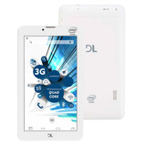 Tablet Dl Tabphone 710 8gb 3g 2 Chip Camera Intel Branco