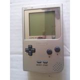 Consola Game Boy Pocket Silver Nintendo Plata Trqs Gameboy