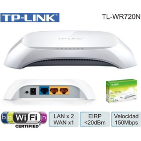 Router Wireless Tp-link Tl Wr720n 150mbps Wifi 2.4ghz Nuevo