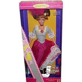 Juguete Muñecas Barbie Del Mundo Coleccionista Francés Muñe