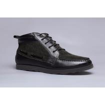 Botin De Cuero Marca Atoretti, Zapatos, Liquidacion! Ash18