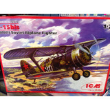 Maqueta Avión Para Armar 1:72 Wwii Soviet Biplane Figuter