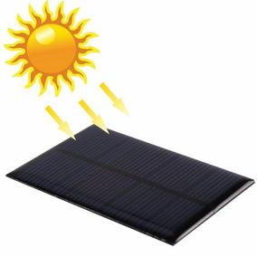 Celda Panel Solar 6v 110ma 0.66w Max 0.76w
