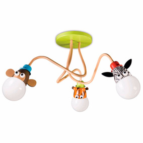Plafon Philips Zoo Infantil Habitacion Niños S/lampara