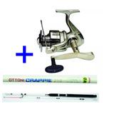 Kit Pesca Pesada Molinete Elite 5000 + Vara 2,10m 50 Libras
