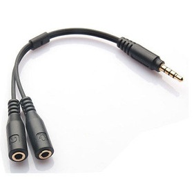 3,5 Mm Mic Audio Auriculares Adaptador Para Ipod Ipad Iphone