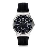 Reloj Swatch Yis403 Goma Negro Hombre