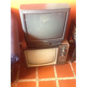Televisores Sony Pantalla Negra Y Otro Para Reparar