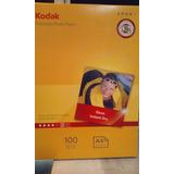 Papel Fotográfico Kodak Brillo-a4-240 Gr