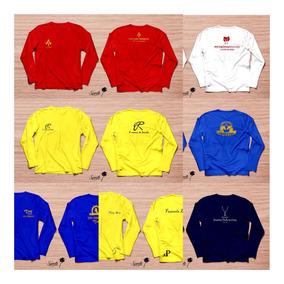 Kit Com 10 Camisas Proteção Uv Personalizadaspersonalizads