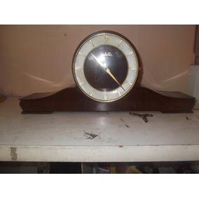 Relógio Antigo Marca Vedette De Mesa 2 Cordas