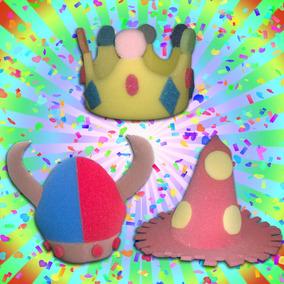 Sombreros De Hule Espuma Fiesta Tematica Varios Modelos