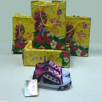 Zapatos Deportivos Fresita Para Ninas Tipo Convers Jean